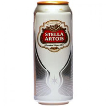 Бира Stella Artois Кен 500 мл.