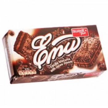 Бисквити Еми с Какаов Крем Sweet Plus 200 гр.