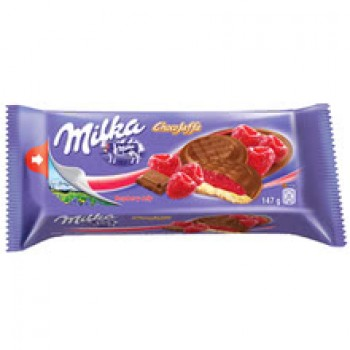 Бисквити Milka Малина 147 гр.
