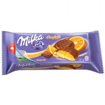 Бисквити Milka Портокал 147 гр.