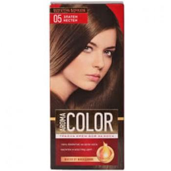 Боя за Коса Aroma Color 05 Златен Кестен 45 мл.