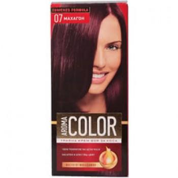 Боя за Коса Aroma Color 07 Махагон 45 мл.