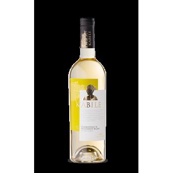 Бяло Вино Шардоне Kabile Вила Ямбол 750 мл.