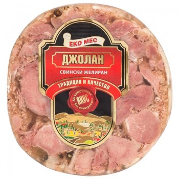 Желиран Свински Джолан Еко Мес 200 гр.