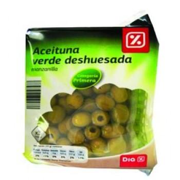 Зелени Маслини Без Костилка Диа 540 гр.
