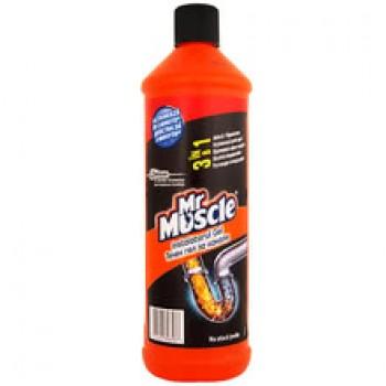 Препарат Mr Muscle за Канал Течен Гел 1 л.