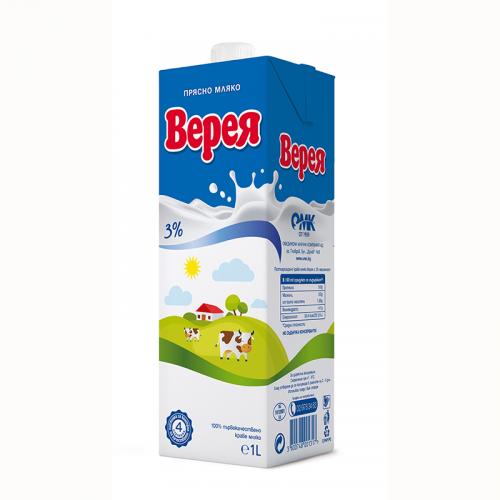 Прясно Мляко Верея 3% 1 л.