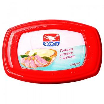 Топено Сирене с Шунка Жоси 170 гр.