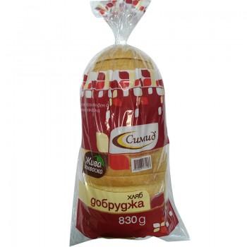 Хляб Добруджа Нарязан Симид 830 гр.
