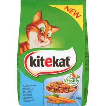 Храна за Котки Kitekat с Риба Тон и Зеленчуци 300 гр.