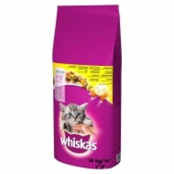 Храна за Котки Whiskas Junior с Пилешко Месо 300 гр.