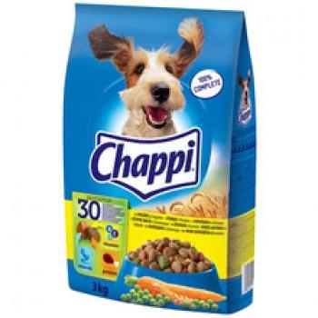 Храна за Кучета Chappi с Говеждо,Птиче Месо и Зеленчуци 3 кг.