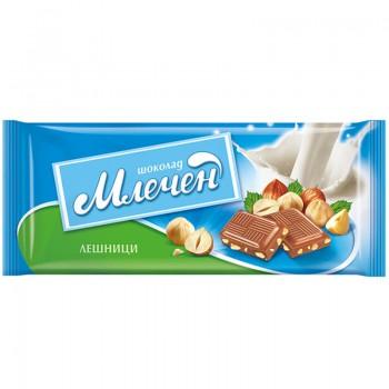 Шоколад Млечен Лешници 80 гр.