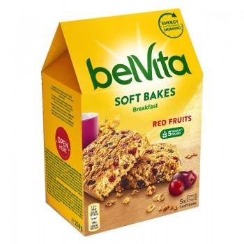 Бисквити Belvita Soft Bakes Red Fruits 250 гр.