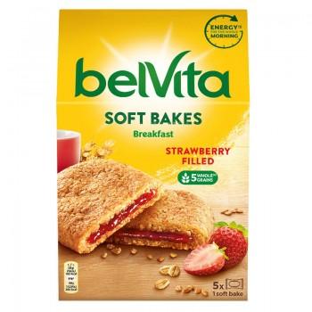 Бисквити Belvita Soft Bakes Strawberry Filled 250 гр.
