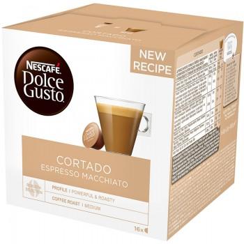Кафе Nescafe Dolce Gusto Cortado Espresso Macchiato 100.8 гр. 16 бр.