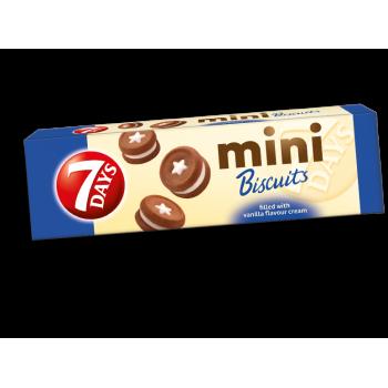 Бисквити Mini 7 Days Ванилия 100 гр.