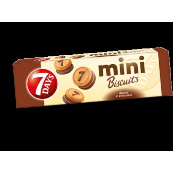 Бисквити Mini 7 Days Потопени в Шоколад 100 гр.