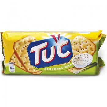 Бисквити Tuc Лук и Сметана 100 гр.