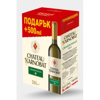 Вино Chateau Karnobat Шардоне 3 л.