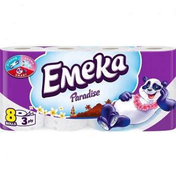 Тоалетна Хартия Emeka Paradise 8 бр.