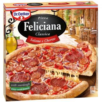 Пица Feliciana Салам и Чоризо 320 гр.