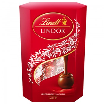 Бонбони Lindt Lindor Млечен Корнет 200 гр.