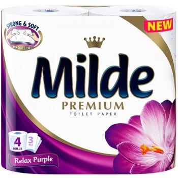 Тоалетна Хартия Milde Relax Purple 4 бр.