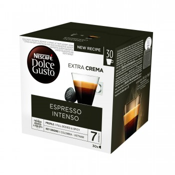 Кафе Nescafe Dolce Gusto Espresso Intenso 128 гр. 16 бр.