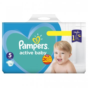 Пелени Pampers Active Baby Размер 5 11-16 кг. 1 бр.