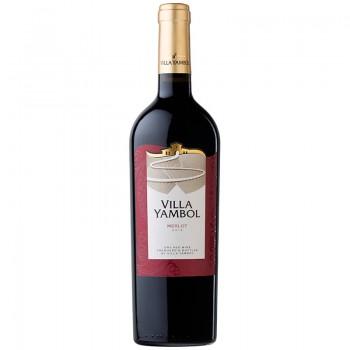 Червено Вино Вила Ямбол Мерло 750 мл.