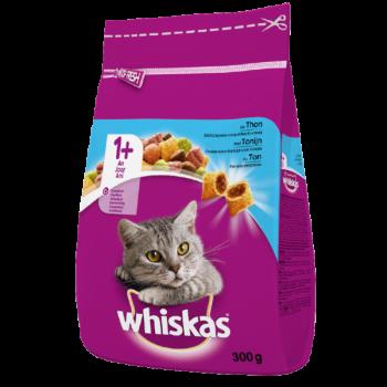 Храна за Котки Whiskas със Сьомга 300 гр.